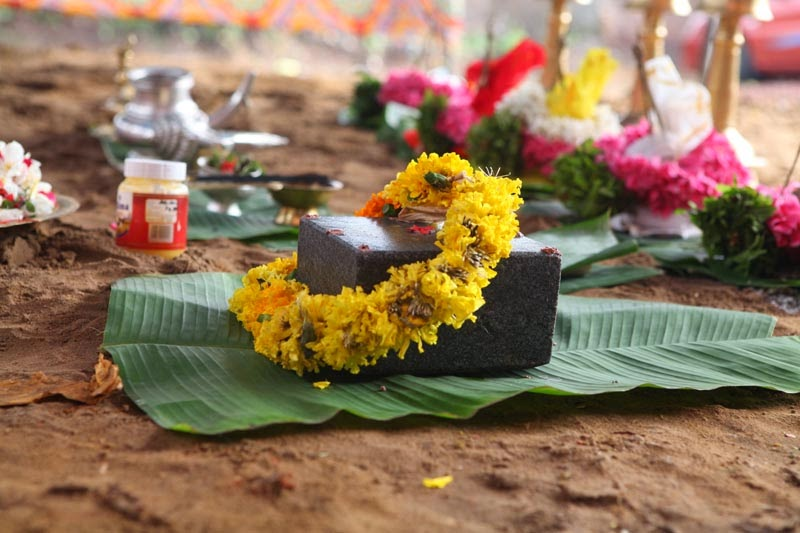 bhoomi pooja for house construction
