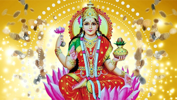 lakshmi puja for wealth